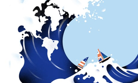 Britain and the US once ran the world. Now they're all at sea