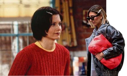 Monica and fashion blogger Aylin Koenig.