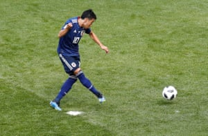 Kagawa scores from the penalty.