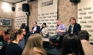 The Frontline Club panel discussion.