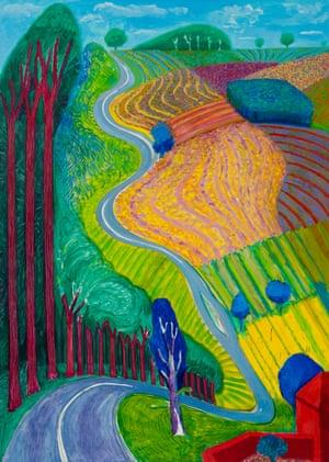 Going Up Garrowby Hill, 2000.