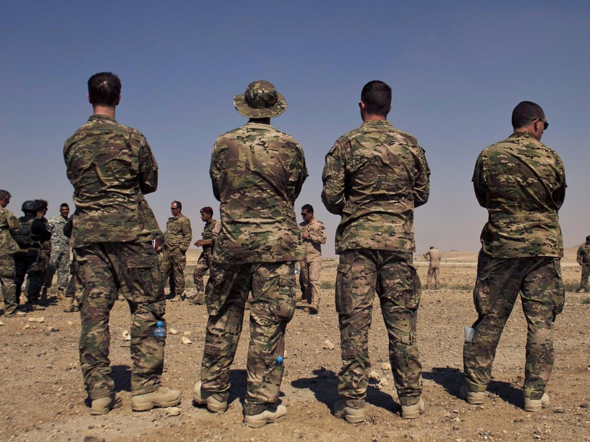 estilo moderno comprar original último estilo Three members of US military killed in Jordan army base shooting | US  military | The Guardian
