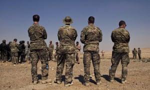 US special forces in Jordan in 2013