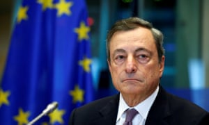 Mario Draghi's term as European Central Bank president will end at the end of October.