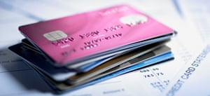 Close up of stack of credit cardsGettyImages-88621207