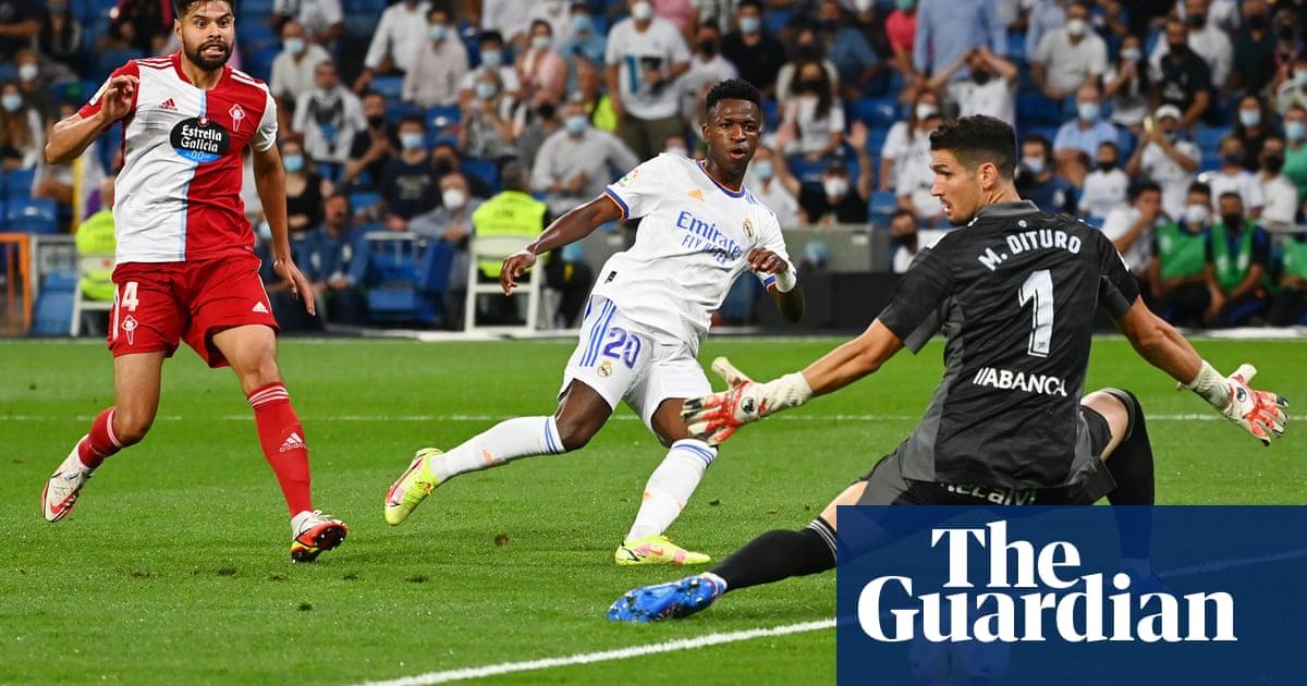 Vinícius kickstarts Bernabéu party and comes of age as Real Madrid hero