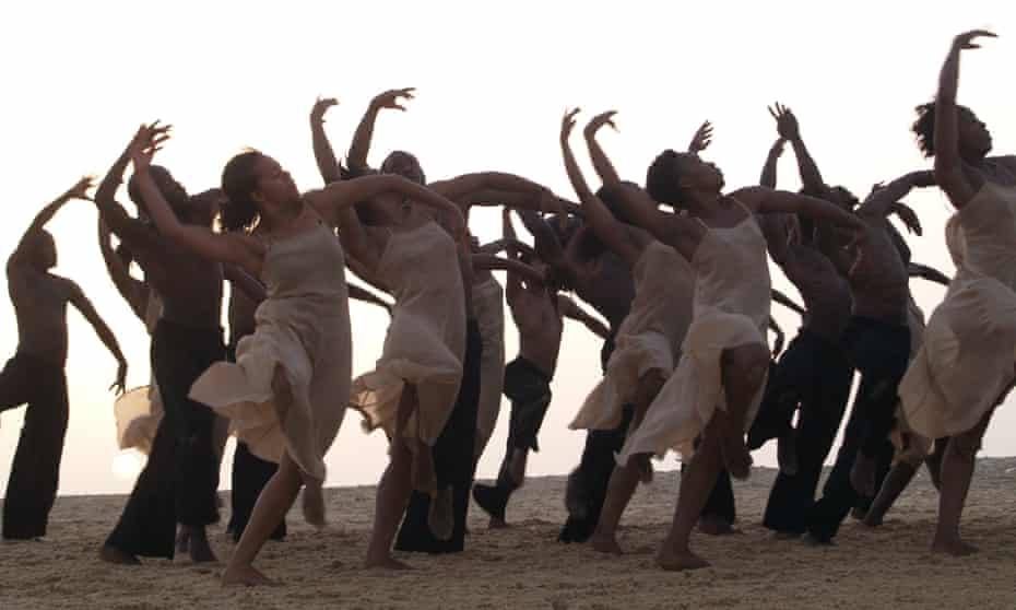 New energy … an image from Dancing at Dusk: A Moment With Pina Bausch's The Rite of Spring