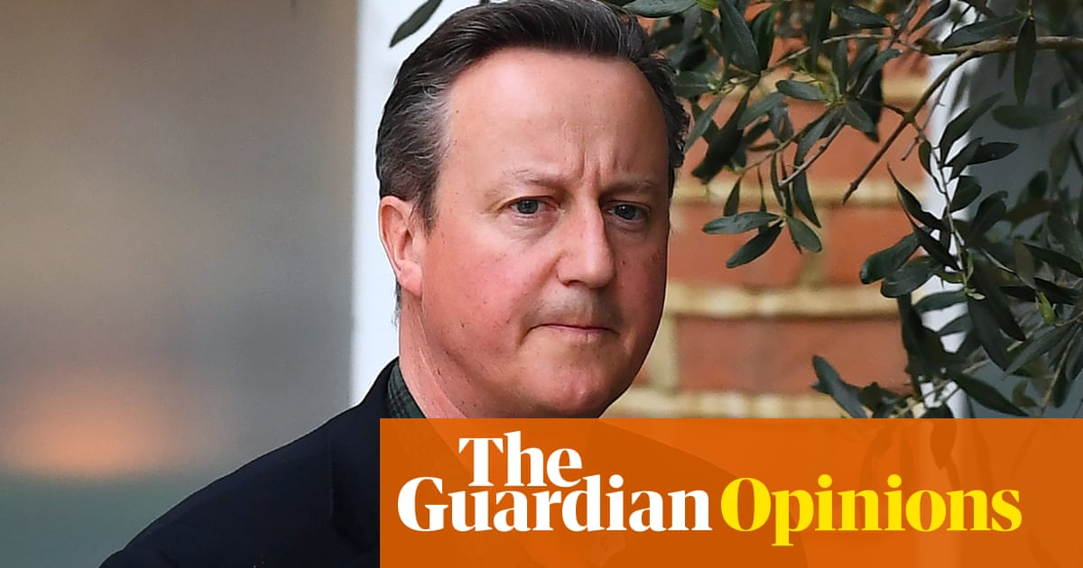 The Guardian view on David Cameron's lobbying: a cynical defence won't wash