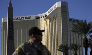 Stephen Paddock opened fire on festival-goers from the 32nd floor of the Mandalay Bay hotel.