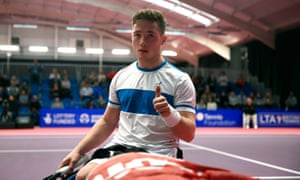 Alfie Hewett won the French Open singles and Wimbledon doubles in a tremendous 2017.