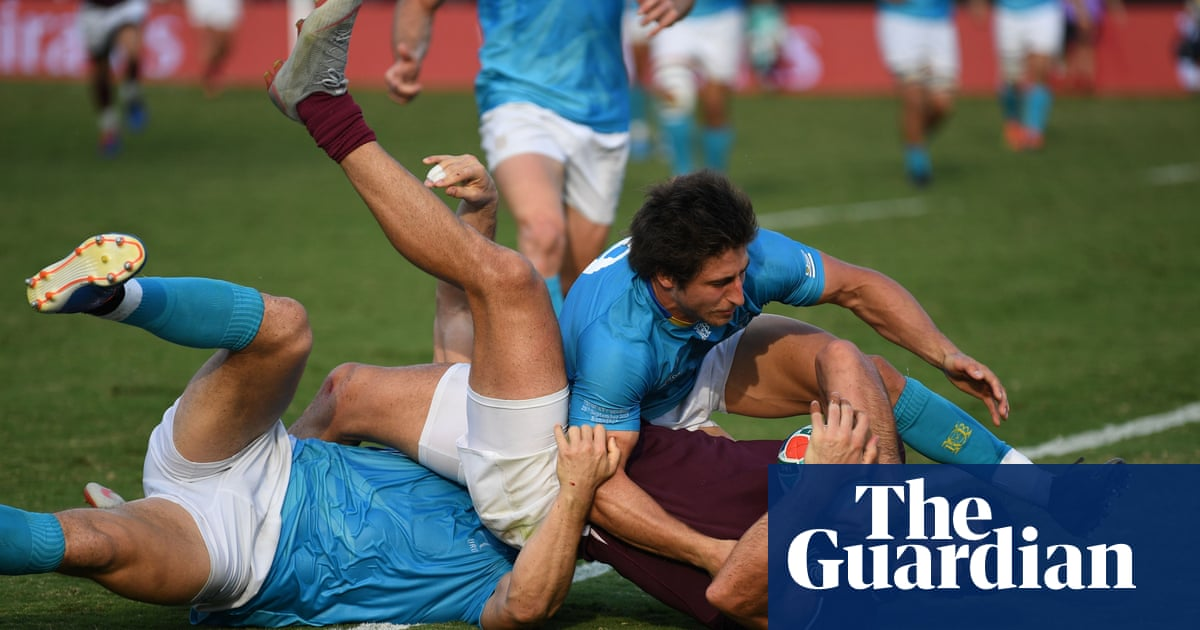 Georgia trounce Uruguay to kickstart Rugby World Cup campaign
