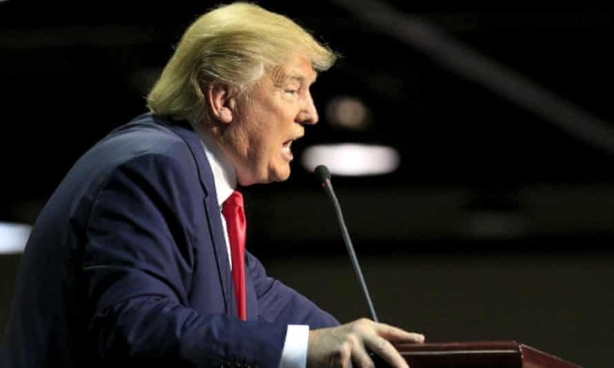 Republican presidential candidate Donald Trump has become known for his inflammatory outbursts