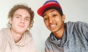Benny Hunter and Alexander Tekle
