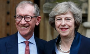 Philip May, pictured with Theresa May