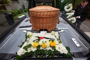 Eddie Goodall is laid to rest