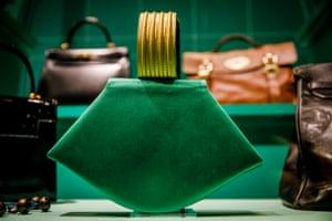 One of Princess Margaret's handbags