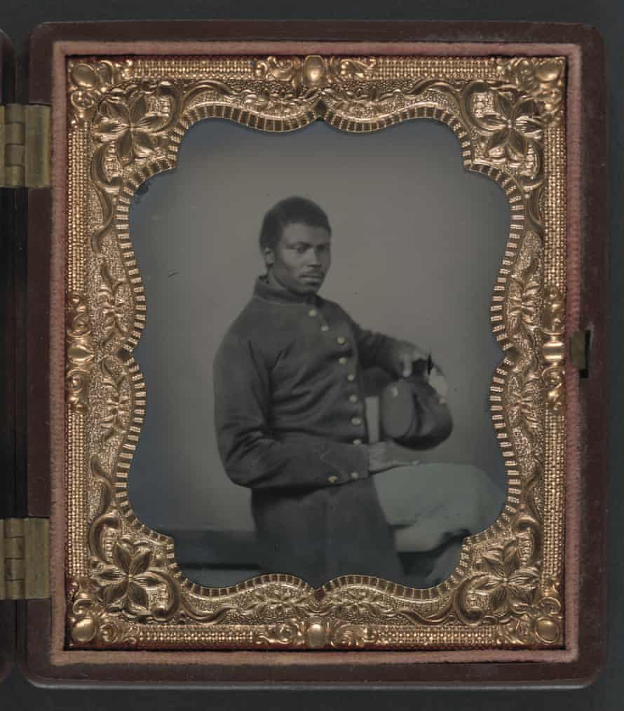 Unidentified African American soldier in Union uniform
