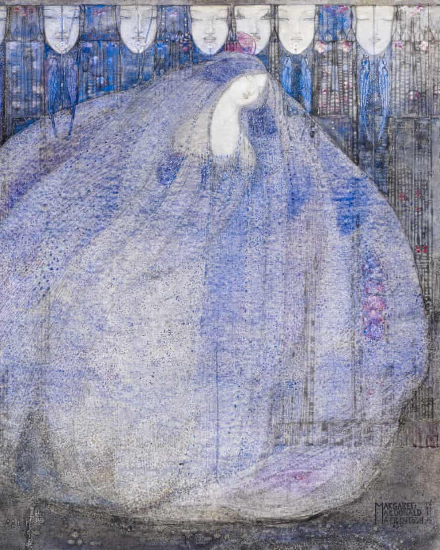 The Mysterious Garden, by Margaret Macdonald Mackintosh, 1911.