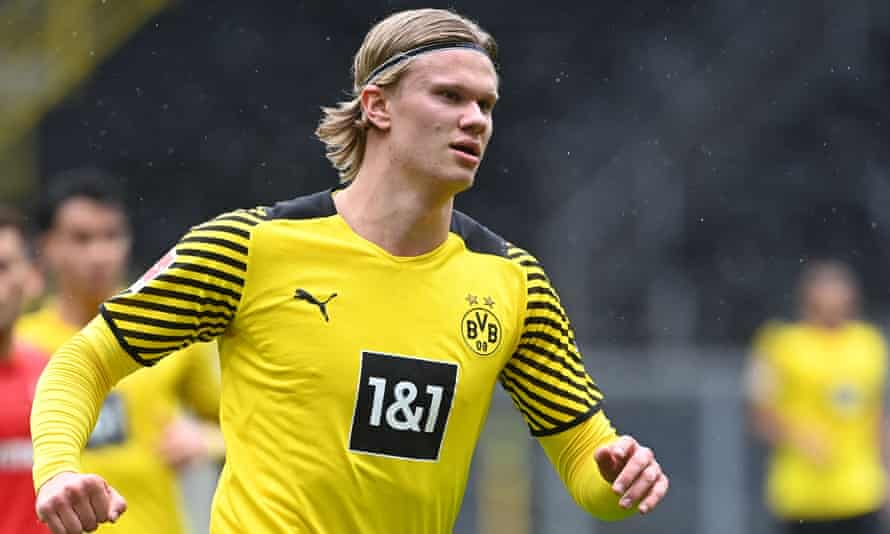 Erling Haaland has scored 57 goals for Borussia Dortmund since joining in January 2020.