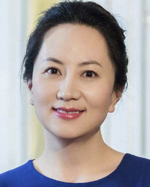 Meng Wanzhou. who has been arrested in Canada.