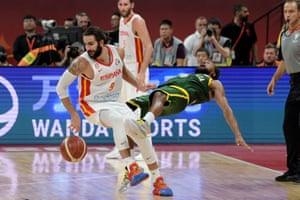 Basketball World Cup, Spain v Australia