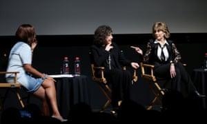 Gayle King, Lily Tomlin and Jane Fonda at Tribeca.