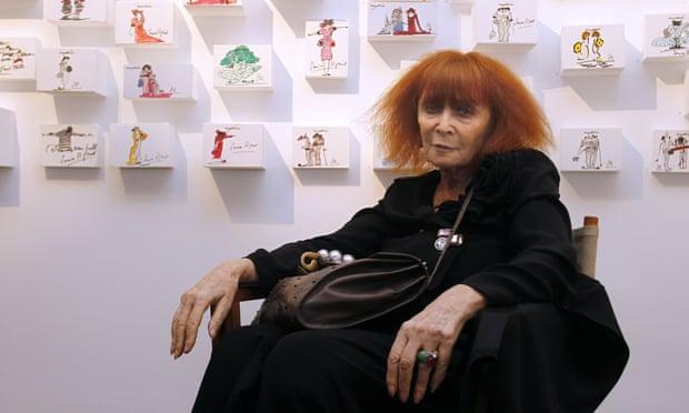 Sonia Rykiel in Paris in 2010.