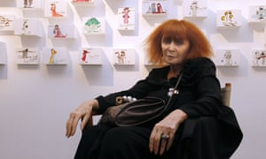 Sonia Rykiel in Paris in 2010.