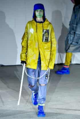 Undercover show, Runway, Paris Fashion Week, 2018.