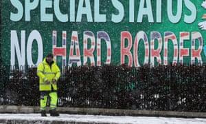 A Sinn Féin billboard in Belfast.