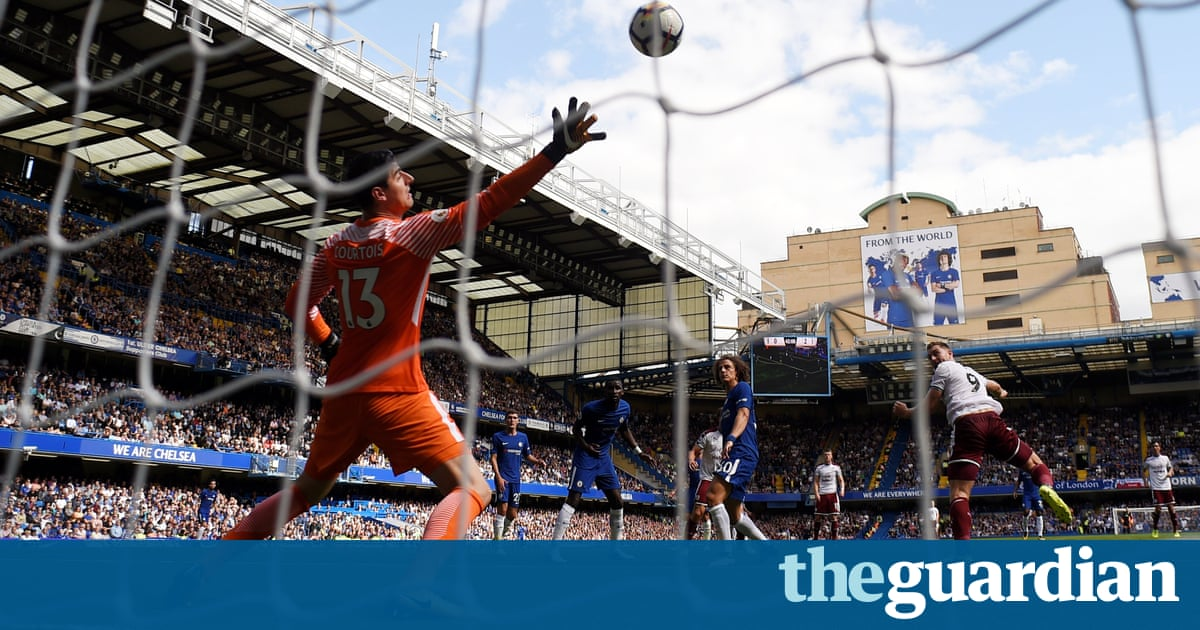 Cahill red card crucial in Chelsea's loss to Burnley, says Conte – video