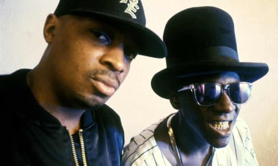 Formidably intense … Chuck D and Flavor Flav.
