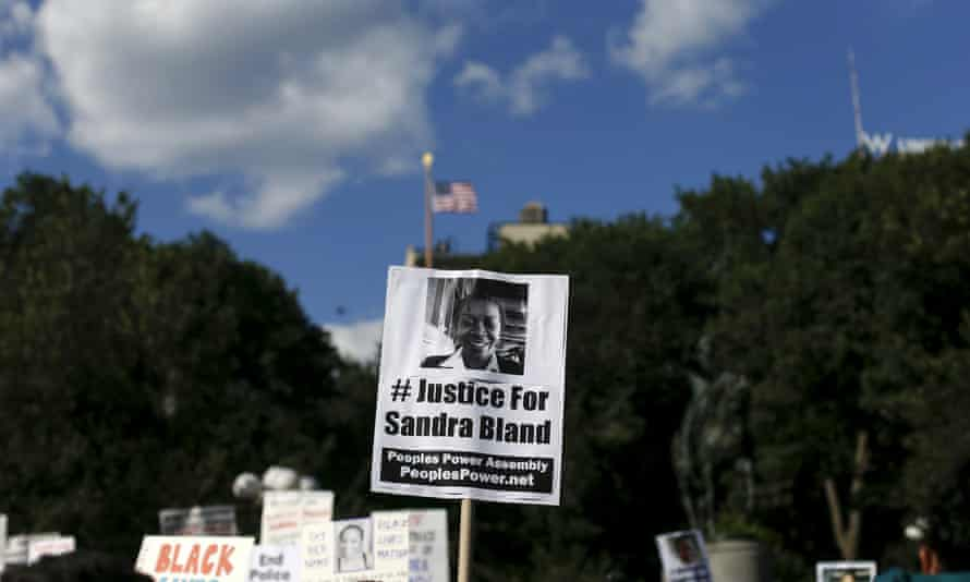 Sandra Bland was found hanged in her cell last July, three days after being arrested when a routine traffic stop escalated.