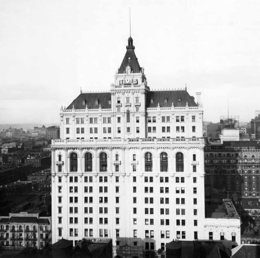 The old Times building pictured in 1924.