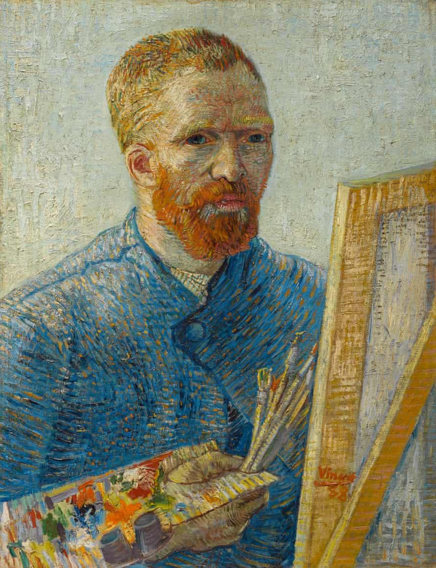 Vincent van Gogh's Self-Portrait as a Painter (1887 - 1888)