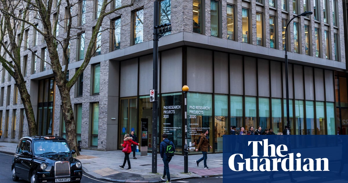 Ex-students complain of sexism and racism at UCL architecture school