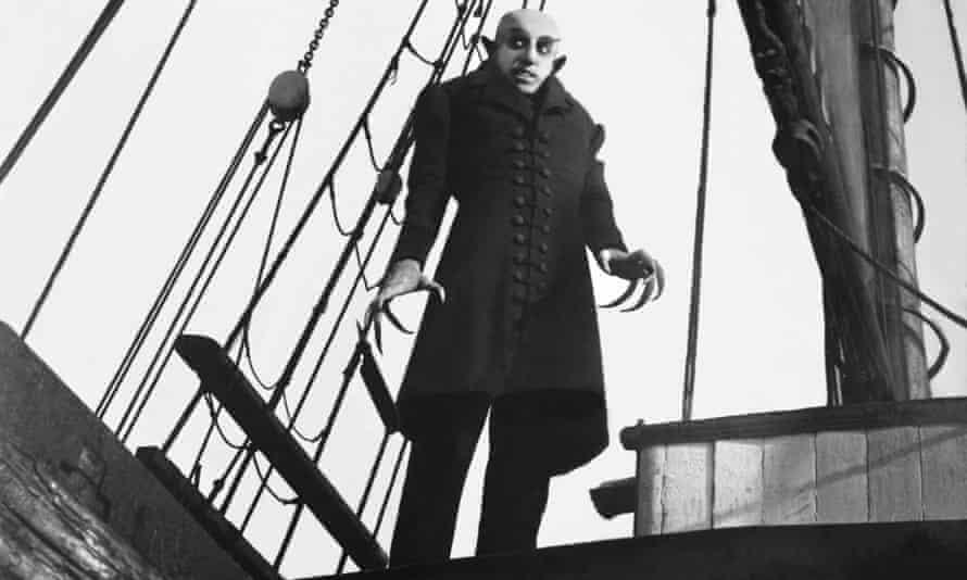 Max Schreck in FW Murnau's 1922 classic Nosferatu.