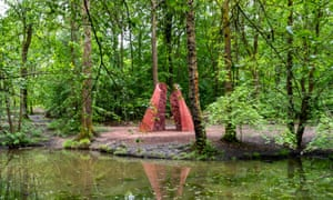 Threshold by Natasha Rosling part of the Forest of Dean Sculpture Trail