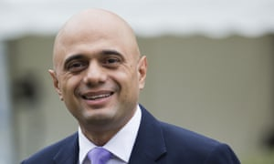 Sajid Javid tops the list of 101 prominent British people of Asian descent or Asian people in Britain.