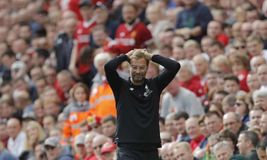 The sense is that Jürgen Klopp has asked his Liverpool players to ease off as part of a plan.