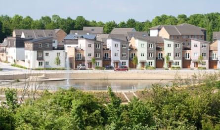 Lakeview estate, Milton Keynes