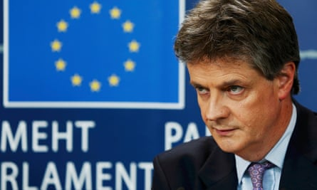 Britain's EU commissioner, Jonathan Hill