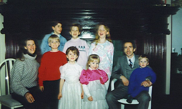 Michael Young and his family. Young was unaware that his parents' church was labeled as a sect by the FBI .