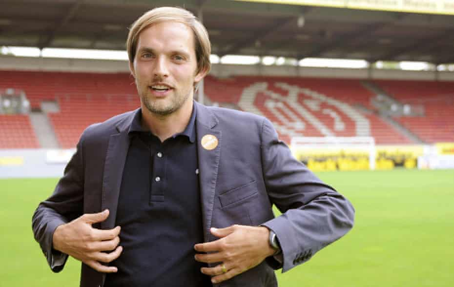 thomas tuchel after being appointed as mainz's manager in 2009.