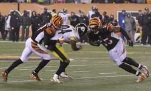 NFL playoffs  Pittsburgh Steelers 18-16 Cincinnati Bengals – as it happened! e5d981b9d