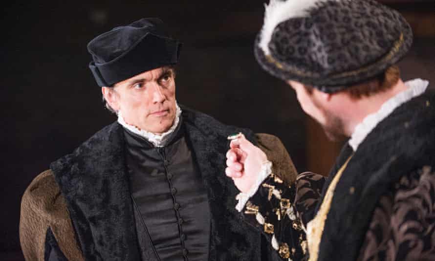 Ben Miles as Thomas Cromwell in Bring Up the Bodies in 2014.