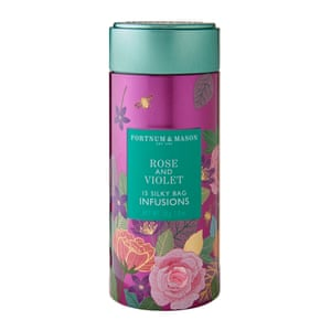 Fortnum and Mason's Rose and violet tea is selling rather well, apparently.