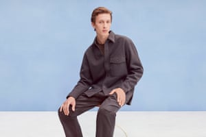 Grey days ahead Designed by Christophe Lemaire, Uniqlo's U collection features everyday classics for men and women in a neutral colour palette. It's perfect for the new season. Fleece overshirt, £39.90, and trousers, £34.90, both uniqlo.com