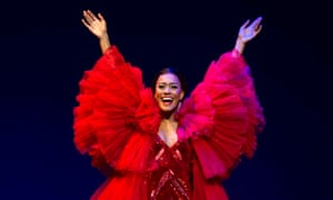 'Jaw-dropping': Lucy St Louis as Diana Ross in Motown the Musical.