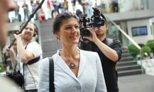 Die Linke's Sahra Wagenknecht